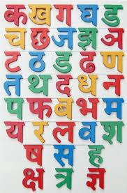 hindi alphabet