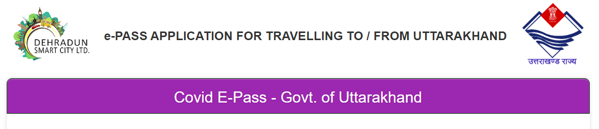 Appy Epass For Travelling to Uttarakhand